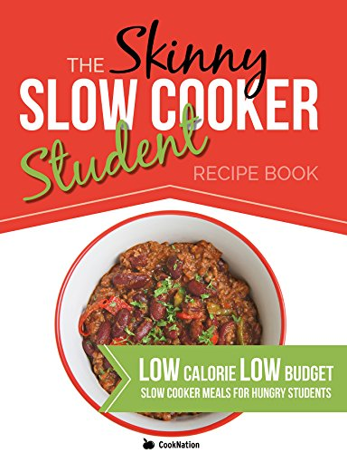 The slow cooker love food parragon amazon parragon books the skinny slow cooker student recipe book delicious simple low calorie low forumfinder Image collections