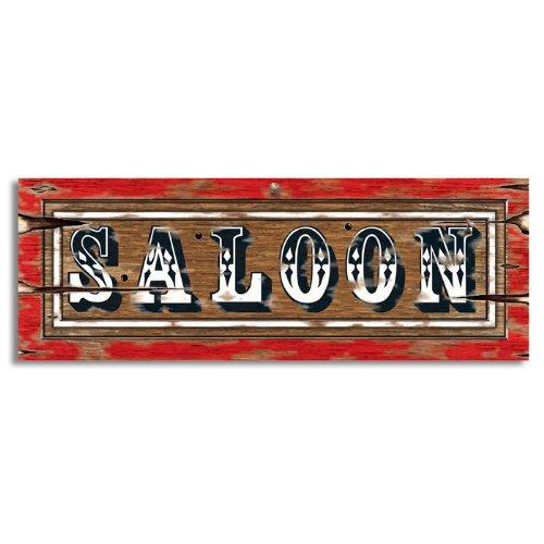 Preisvergleich Produktbild Three Sixty Degrees Ltd / Cut-out-Schild Saloon
