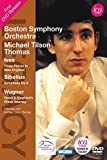 Ives/ Sibelius/ Wagner: Three [Michael Tilson Thomas, Boston Symphony Orchestra] [ICA: ICAD 5111] [DVD] [2013] by Boston Symphony Orchestra