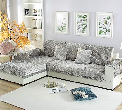 Zzy Luxus plüsch möbel beschützer und Couch slipcover für Sofa, Liege, Stuhl, Maschine waschbar, Beleg-Abdeckung für Haustiere zu Werfen, Hunde, Kinder, -1 stück-B 90x240cm(35x94inch)