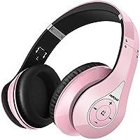 Mpow 059 Auriculares Bluetooth de Diadema Inalámbricos, Cascos Bluetooth Plegable con Micrófono Manos Libres y Hi-Fi Sonido Estéreo 20hrs Reproducción de Música Orejeras Memoria Suave para TV PC Movil