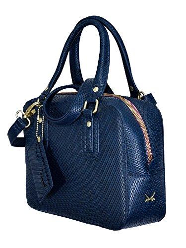 SANSIBAR-Damen Bowling-Bag 26x20x9-Navy