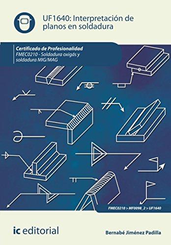 Interpretación de planos en soldadura. FMEC0210 de [Jiménez Padilla, Bernabé]