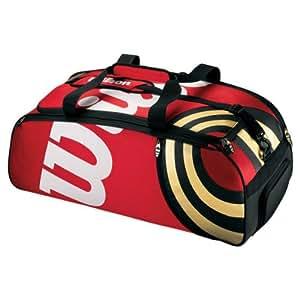 Wilson BLX Tour Duffle Sac tennis Rouge/noir/or 80 x 36 x 32 cm