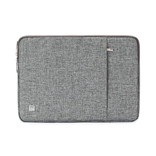 "NIDOO 14 Zoll Wasserdicht Laptop Sleeve Case Notebook Hülle Schutzhülle Tasche Laptoptasche für 14"" HP Stream 14 Pavilion 14 / Lenovo Yoga 710 / 14"" ThinkPad A475 Laptop (Grau)"