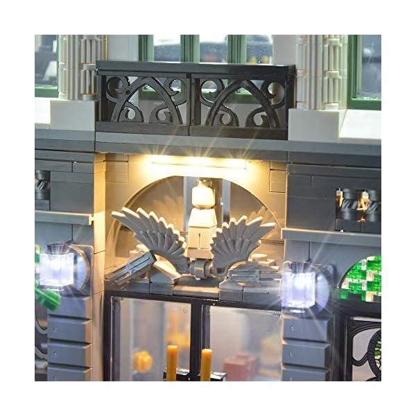 LIGHTAILING Set di Luci per (Creator Expert la Banca) Modello da Costruire - Kit Luce LED Compatibile con Lego 10251(Non… 4 spesavip