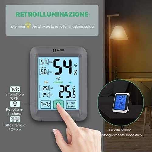 Zoom IMG-1 habor termometro igrometro digitale con