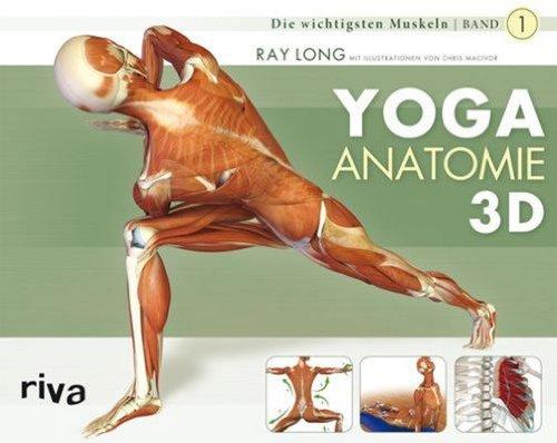 Preisvergleich Produktbild Yoga-Anatomie 3D: Band 1: Die wichtigsten Muskeln