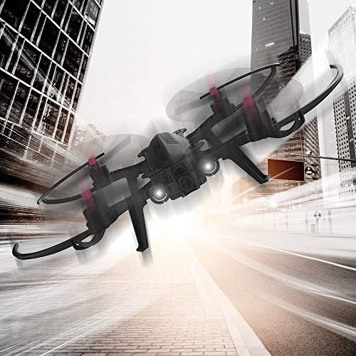 DROCON Bugs 6 Motor Drone, RTF Quadcopter Para Entrenamiento (Soporte FPV)
