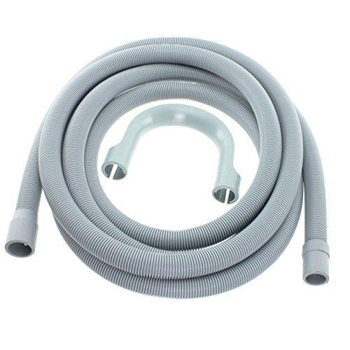 spares2go Abflussschlauch Extra Lang Wasser Rohr für Russell Hobbs Waschmaschine Meters (4,119mm & 22mm Anschluss) - Drainage Tube