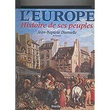 L, Europe histoire de ses peuples