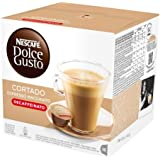 Nescafé Dolce Gusto Espresso Cortado Decafeinato, 16 Capsules