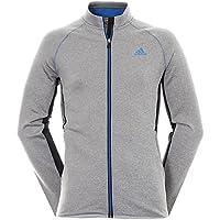 Adidas Climaheat Full Chaqueta de Golf, Hombre, Gris, XL