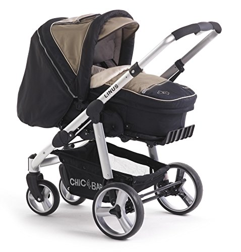 CHIC 4 BABY 15040 NEVERA COCHECITO LINUS  COLOR MARRON/NEGRO