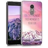 kwmobile Lenovo K6 Hülle - Handyhülle für Lenovo K6 - Handy Case in Rosa Violett Koralle
