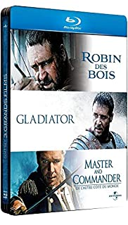 Russell Crowe - 3 grands films : Robin des Bois + Gladiator + Master and Commander [Pack Collector boîtier SteelBook] (B0057YFY78) | Amazon price tracker / tracking, Amazon price history charts, Amazon price watches, Amazon price drop alerts