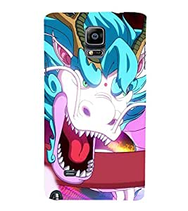 Fierce Dragon 3D Hard Polycarbonate Designer Back Case Cover for Samsung Galaxy Note 4 :: Samsung Galaxy Note 4 N910G :: Samsung Galaxy Note 4 N910F N910K/N910L/N910S N910C N910FD N910FQ N910H N910G N910U N910W8