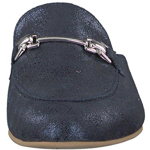 Tamaris Women 27316 Mules Blue (navy Metallic)
