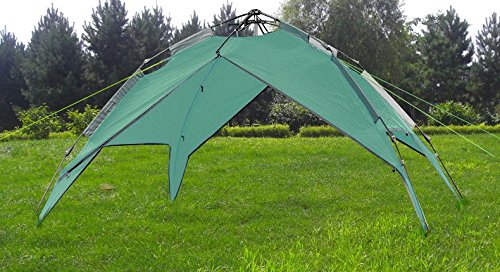Hydraulic-Dome-Tent-Canopy-for-Camping-Automatic-Waterproof-Hydraulic-Tents-3-4-Person-Canopy-Easy-to-Set-up-and-package-Green-By-Qisan
