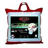 Dodo 80627 60/60 Suprelle Fresh Kopfkissen, Tencel/Baumwolle, Weiß