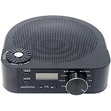 Signstek Sistema sonoro di sonno con rumore bianco e suoni rilassanti naturali per aiutarti a disturbare la rumorosità (Connettore europeo)