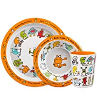 Monsters Print Melamine Children