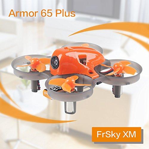 Armor 65 plus Micro FPV Racing Drone 65mm Whoop Quadcopter 7x16mm Moteurs F3 FC avec XM Frsky Récepteur BNF