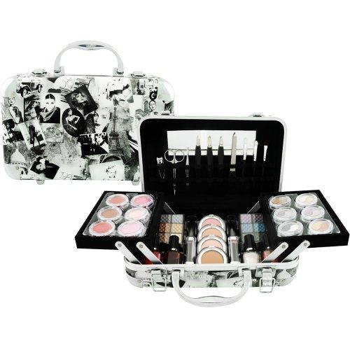 Gloss! Schmink Handkoffer 58 Kosmetikprodukte 814 D1, 1er Pack (1 x 1.46 - 64-pinsel-set