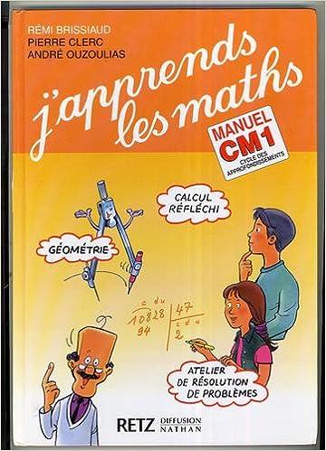 En ligne J'apprends les maths, CM1. Manuel et Fichier d'activités pdf, epub ebook