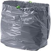 Juego de bolsas de basura Förslutas (16 unidades) de Ikea, color gris