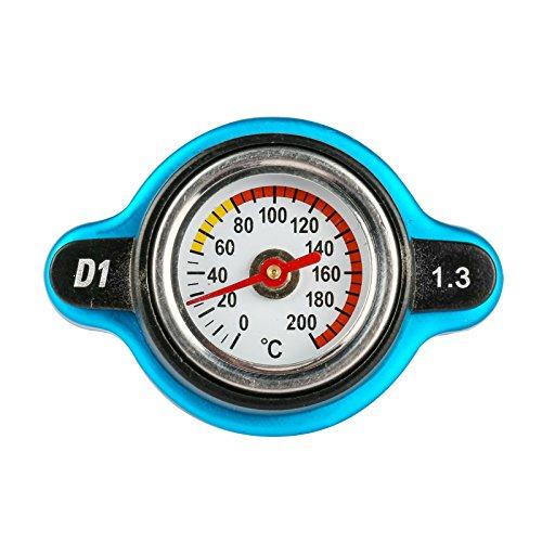 Copertura del tappo del radiatore dell'automobile 1.3BAR con alluminio industriale del misuratore di temperatura 0-200 ℃