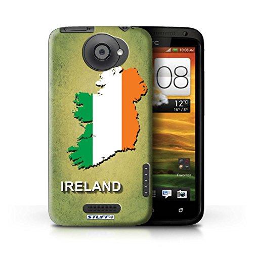 iCHOOSE Hülle / Hülle für Apple iPhone 5C / harter Plastikfall für Telefon / Collection Flagge Land / Griechenland/Greek Irland/Irisch