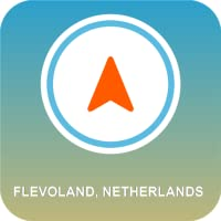 Flevoland, Niederlande GPS