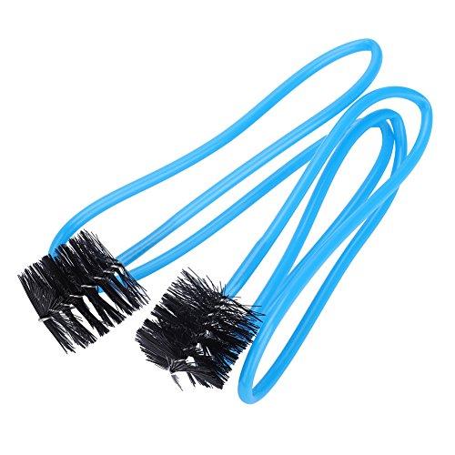 RiToEasysports Posaunen-Reinigungsset, 6er-Set Posaunen-Tubahorn Blechblasinstrument-Reinigungsset Werkzeug mit Putztuch-Bürstenhandschuhen