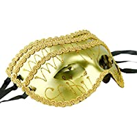 iFANS Gold Pack of 3 Masquerade Masks for Nightclub Dance Party Sale