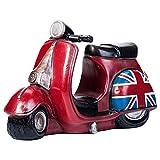 Aeloot Retro Sparschwein Nettes Britisches Motorrad-Sparschwein-Dekorations-Karikatur-Kind-Sparschwein
