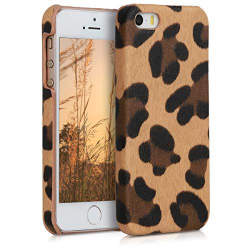 kwmobile Apple iPhone SE / 5 / 5S Hülle - Hardcover Handyhülle für Apple iPhone SE / 5 / 5S - Handy Case Cover Schutzhülle