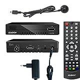 Edision progressiv hybrid lite DVB-C/T Kabel Receiver für digitales Kabelfernsehen inkl. Externen Infrarotauge
