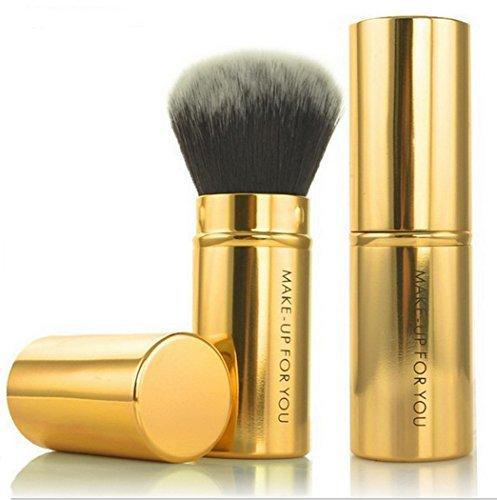 1 pièces Kit de Pinceau maquillage Professionnel Ombre à Paupière Blush Fondation Pinceau Poudre Fond de teint Anti-cerne Kit Pinceaux synthétique Premium maquillage noir Kabuki Kit Brush Set