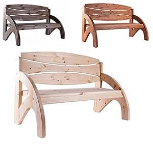 bomi gartenbank 3 sitzer jorn holzbank natur unbehandelt fsc kiefernholz 140cm. Black Bedroom Furniture Sets. Home Design Ideas
