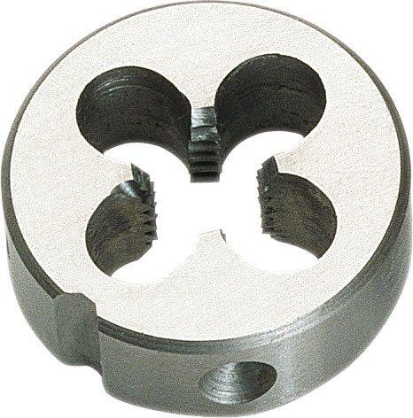 Filière ronde en acier super-rapido hSS-e–Filetage métrique m