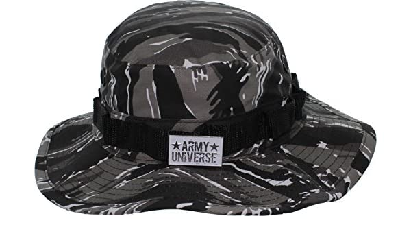 Price  0900e bea34 Urban Tiger Stripe Camouflage Boonie Hat with ARMY  UNIVERSE Pin - Size X- ... 13d7268b41c