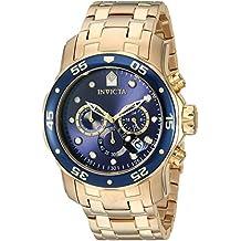 Invicta 0073 - Reloj para hombre color azul / dorado