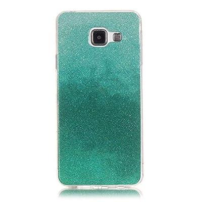 Samsung Galaxy S6 Hülle,Gulin Soft TPU Case Etui Schutz Funkeln Allmähliche Veränderung Mode Schutzhülle, Case / Etui Cover / Silikon Case für Samsung Galaxy S6 von COZY HUT