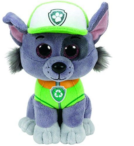 TY Licensed Beanie - Paw Patrol - ROCKY , Perfect Plush!