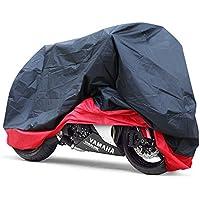 GHB Funda para Moto Funda Talla XXL 265cm Protector Cubierta de Moto para Resistente al Agua