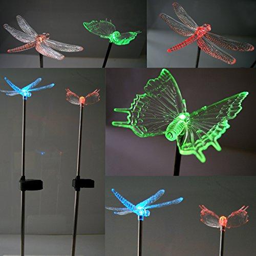 487-2er-XXL-Solar-LED-Solarlampe-farbwechsel-Libelle-Schmetterling-Solarleuchten