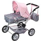 Zapf Creation 821343 - Babypuppen und Zubehör - Baby born - Deluxe Puppenwagen
