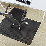 Design Bodenschutzmatte Lucca in 6 Größen | dekorative Unterlegmatte für Bürostühle oder Sportgeräte (150 x 180 cm)