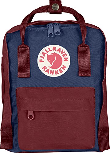 Fjällräven Unisex Rucksack Kånken Mini, royal blue-ox Red, 13 x 20 x 29 cm, 7 Liter, 23561-540/326